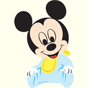 (AB) MINI PAINEL MICKEY BABY  (R:2409) - 01UN