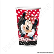 (AA) COPO PAP MINNIE RED 330ML (R:5481) - 08UN
