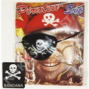 KIT PIRATA C/BANDANA (R:4992) - 01UN