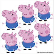 (AB) MINI PERSONAGEM PEPPA GEORGE (R:4042) - 06UN
