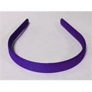 TIARA ART. PL ENCAPADA COR:22-ROXO 10MM - 01PC
